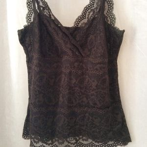 2 for 20$ Le Chateau Lace V-neck Tank Top